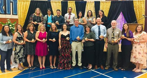 Nominees for Educator of the Year